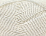 Fiber Content 55% Virgin Wool, 5% Cashmere, 40% Acrylic, White, Brand ICE, Yarn Thickness 2 Fine  Sport, Baby, fnt2-21111