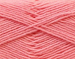 Fiber Content 55% Virgin Wool, 5% Cashmere, 40% Acrylic, Light Pink, Brand Ice Yarns, Yarn Thickness 2 Fine  Sport, Baby, fnt2-21124