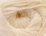Fiber Content 100% Polyester, Yarn Thickness Other, Brand Ice Yarns, Cream, fnt2-21641