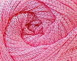 Fiber Content 100% Polyester, Yarn Thickness Other, Light Pink, Brand Ice Yarns, fnt2-21645