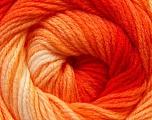 Fiber Content 100% Acrylic, Yellow, Red, Orange, Brand Ice Yarns, Yarn Thickness 3 Light  DK, Light, Worsted, fnt2-22020