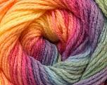 Fiber Content 100% Acrylic, Yellow, Purple, Pink, Brand Ice Yarns, Green, Blue, Yarn Thickness 3 Light  DK, Light, Worsted, fnt2-22034