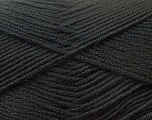 Fiber Content 100% Baby Acrylic, Brand ICE, Black, Yarn Thickness 2 Fine  Sport, Baby, fnt2-22528