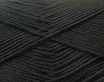 Fiber Content 100% Baby Acrylic, Brand Ice Yarns, Black, Yarn Thickness 2 Fine  Sport, Baby, fnt2-22528