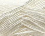 Fiber Content 100% Baby Acrylic, White, Brand Ice Yarns, Yarn Thickness 2 Fine  Sport, Baby, fnt2-22529