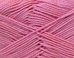 Fiber Content 100% Mercerised Cotton, Pink, Brand Ice Yarns, Yarn Thickness 2 Fine  Sport, Baby, fnt2-23330