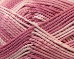 Fiber Content 100% Mercerised Cotton, White, Orchid, Lilac, Brand Ice Yarns, Yarn Thickness 2 Fine  Sport, Baby, fnt2-23340