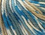 Fiber Content 40% Acrylic, 35% Wool, 25% Alpaca, Light Brown, Brand ICE, Grey, Blue, Yarn Thickness 5 Bulky  Chunky, Craft, Rug, fnt2-25417