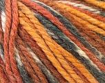 Fiber Content 40% Acrylic, 35% Wool, 25% Alpaca, White, Brand ICE, Grey, Gold, Brown, Yarn Thickness 5 Bulky  Chunky, Craft, Rug, fnt2-25421