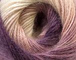 Fiber Content 55% Acrylic, 45% Angora, Purple, Lilac, Light Pink, Brand ICE, Yarn Thickness 2 Fine  Sport, Baby, fnt2-26303