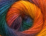 Fiber Content 55% Acrylic, 45% Angora, Yellow, Purple, Orange, Brand Ice Yarns, Green, Blue, Yarn Thickness 2 Fine  Sport, Baby, fnt2-26939