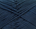 Fiber Content 100% Polyester, Yarn Thickness Other, Navy, Brand Ice Yarns, fnt2-27083