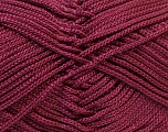 Fiber Content 100% Polyester, Yarn Thickness Other, Maroon, Brand ICE, fnt2-27084