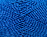Fiber Content 100% Mercerised Cotton, Brand Ice Yarns, Blue, Yarn Thickness 2 Fine  Sport, Baby, fnt2-32542
