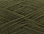 Fiber Content 100% Acrylic, Khaki, Brand Ice Yarns, Yarn Thickness 3 Light  DK, Light, Worsted, fnt2-32970