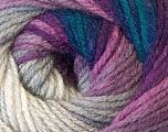 Fiber Content 100% Acrylic, White, Purple, Navy, Brand Ice Yarns, Grey, Blue, Yarn Thickness 3 Light  DK, Light, Worsted, fnt2-33053