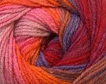 Fiber Content 100% Acrylic, Red, Orange, Brand Ice Yarns, Burgundy, Brown Shades, Yarn Thickness 3 Light  DK, Light, Worsted, fnt2-33057