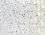 Trellis  Fiber Content 95% Polyester, 5% Lurex, White, Brand ICE, Yarn Thickness 5 Bulky  Chunky, Craft, Rug, fnt2-33592