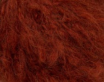 Mohair  Fiber Content 40% Acrylic, 30% Mohair, 20% Wool, 10% Polyamide, Yarn Thickness Other, Brand Ice Yarns, Dark Copper, fnt2-35940