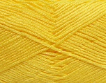Fiber Content 100% Baby Acrylic, Yellow, Brand ICE, Yarn Thickness 2 Fine  Sport, Baby, fnt2-41121