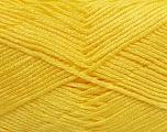 Fiber Content 100% Baby Acrylic, Yellow, Brand Ice Yarns, Yarn Thickness 2 Fine  Sport, Baby, fnt2-41121