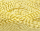 Fiber Content 100% Baby Acrylic, Brand ICE, Baby Yellow, Yarn Thickness 2 Fine  Sport, Baby, fnt2-41122