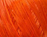 Fiber Content 100% Viscose, Orange, Brand ICE, Yarn Thickness 3 Light  DK, Light, Worsted, fnt2-41947
