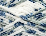Fiber Content 100% Micro Fiber, White, Brand ICE, Grey, Blue, Yarn Thickness 6 SuperBulky  Bulky, Roving, fnt2-42487