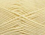 Fiber Content 50% Wool, 50% Acrylic, Brand Ice Yarns, Dark Cream, Yarn Thickness 4 Medium  Worsted, Afghan, Aran, fnt2-42534