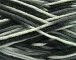 Fiber Content 80% Acrylic, 20% Wool, White, Brand Ice Yarns, Grey, Black, Yarn Thickness 6 SuperBulky  Bulky, Roving, fnt2-42578