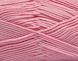 Fiber Content 50% Acrylic, 50% Cotton, Light Pink, Brand ICE, Yarn Thickness 2 Fine  Sport, Baby, fnt2-42590