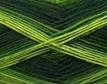 Fiber Content 100% AntiBacterial Micro Dralon, Brand Ice Yarns, Green Shades, Yarn Thickness 2 Fine  Sport, Baby, fnt2-42645