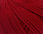 Machine washable pure merino wool. Lay flat to dry Fiber Content 100% Superwash Merino Wool, Red, Brand Ice Yarns, Yarn Thickness 5 Bulky  Chunky, Craft, Rug, fnt2-43417