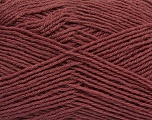 Machine washable. Lay flat to dry Fiber Content 60% Superwash Virgin Wool, 40% Acrylic, Brand Ice Yarns, Dark Rose Brown, fnt2-43816