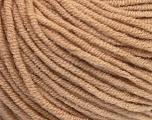 Fiber Content 50% Acrylic, 50% Cotton, Latte, Brand Ice Yarns, fnt2-43835