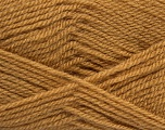 Fiber Content 100% Premium Acrylic, Light Brown, Brand ICE, Yarn Thickness 3 Light  DK, Light, Worsted, fnt2-43839