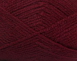 Fiber Content 100% Premium Acrylic, Brand ICE, Burgundy, Yarn Thickness 3 Light  DK, Light, Worsted, fnt2-43846