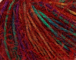 Fiber Content 60% Acrylic, 40% Polyamide, Red, Brand Ice Yarns, Green, Gold, Fuchsia, fnt2-43916