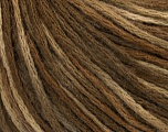 Fiber Content 50% Wool, 50% Acrylic, Brand Ice Yarns, Brown Shades, fnt2-43980