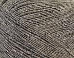 Fiber Content 60% Baby Alpaca, 25% Merino Wool, 15% Nylon, Brand Ice Yarns, Grey, fnt2-43988