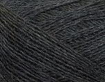Fiber Content 70% Superwash Merino, 30% Baby Alpaca, Brand Ice Yarns, Dark Grey, fnt2-43992