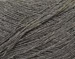 Fiber Content 60% Baby Alpaca, 25% Merino Wool, 15% Nylon, Brand Ice Yarns, Grey, fnt2-44010