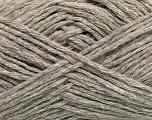 Fiber Content 60% Baby Alpaca, 25% Merino Wool, 15% Nylon, Light Grey, Brand Ice Yarns, fnt2-44024