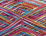 Fiber Content 100% Acrylic, White, Pink, Olive Green, Lilac, Brand Ice Yarns, Blue, fnt2-44052