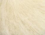 Fiber Content 70% Mohair, 30% Acrylic, Brand Ice Yarns, Cream, fnt2-44159