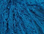 Fiber Content 4% Cashmere, 4% Angora, 38% Polyamide, 33% Viscose, 21% Wool, Turquoise, Brand Ice Yarns, fnt2-44179