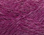 Fiber Content 8% Lurex, 52% Acrylic, 40% Polyamide, Brand Ice Yarns, Fuchsia, fnt2-44192