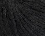 Fiber Content 6% Polyamide, 33% Acrylic, 28% Wool, 19% Alpaca Superfine, 14% Viscose, Brand Ice Yarns, Anthracite Black, fnt2-44387