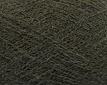 Fiber Content 50% Polyamide, 40% Baby Alpaca, 10% Merino Wool, Brand Ice Yarns, Dark Khaki, fnt2-44569