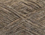 Fiber Content 70% Royal Baby Alpaca, 20% Nylon, 10% Merino Wool, Brand Ice Yarns, Beige Melange, fnt2-44572